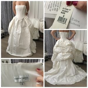 Silk Wedding Gown (new with tags)